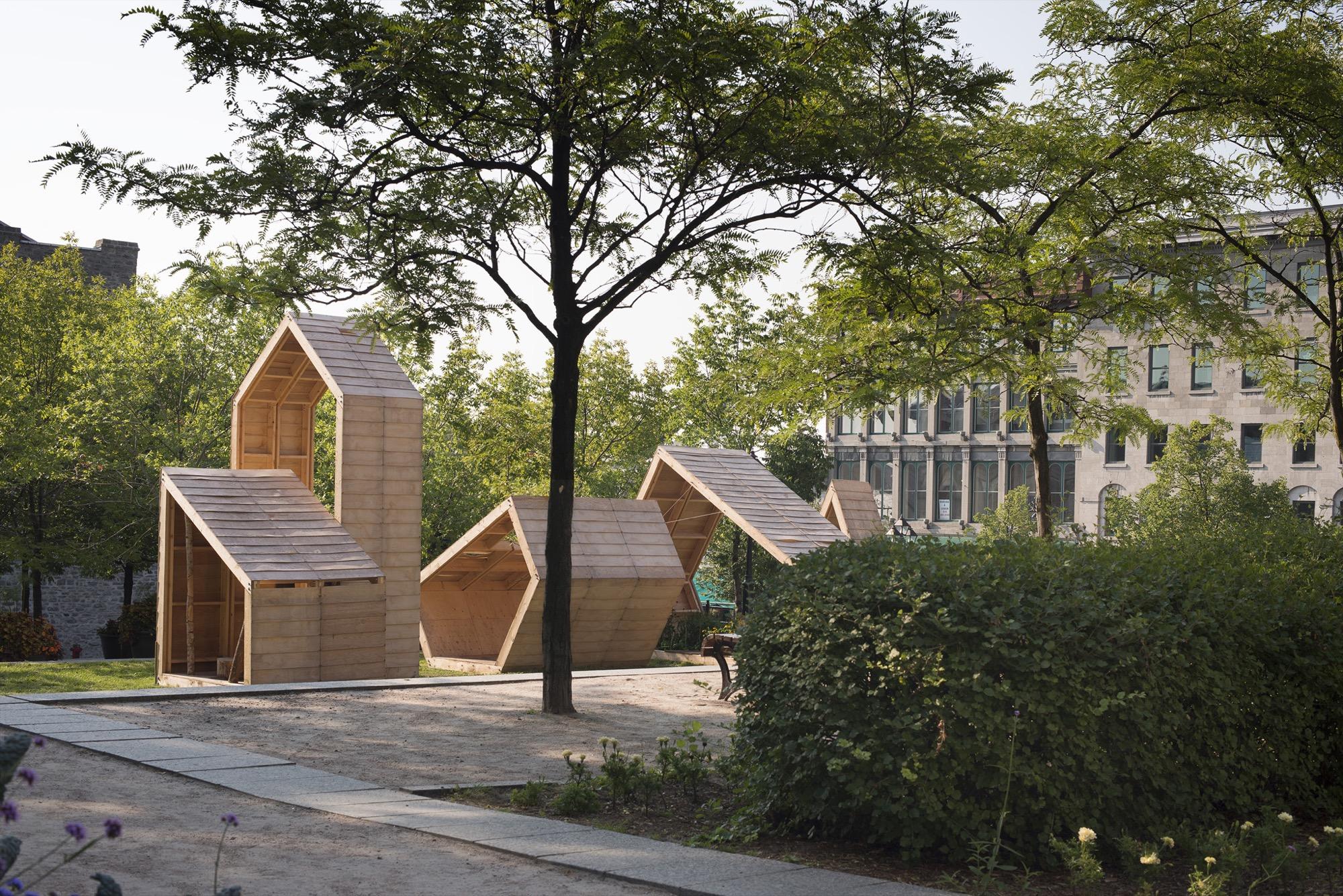 Installation par l'atelier Pierre Thibault