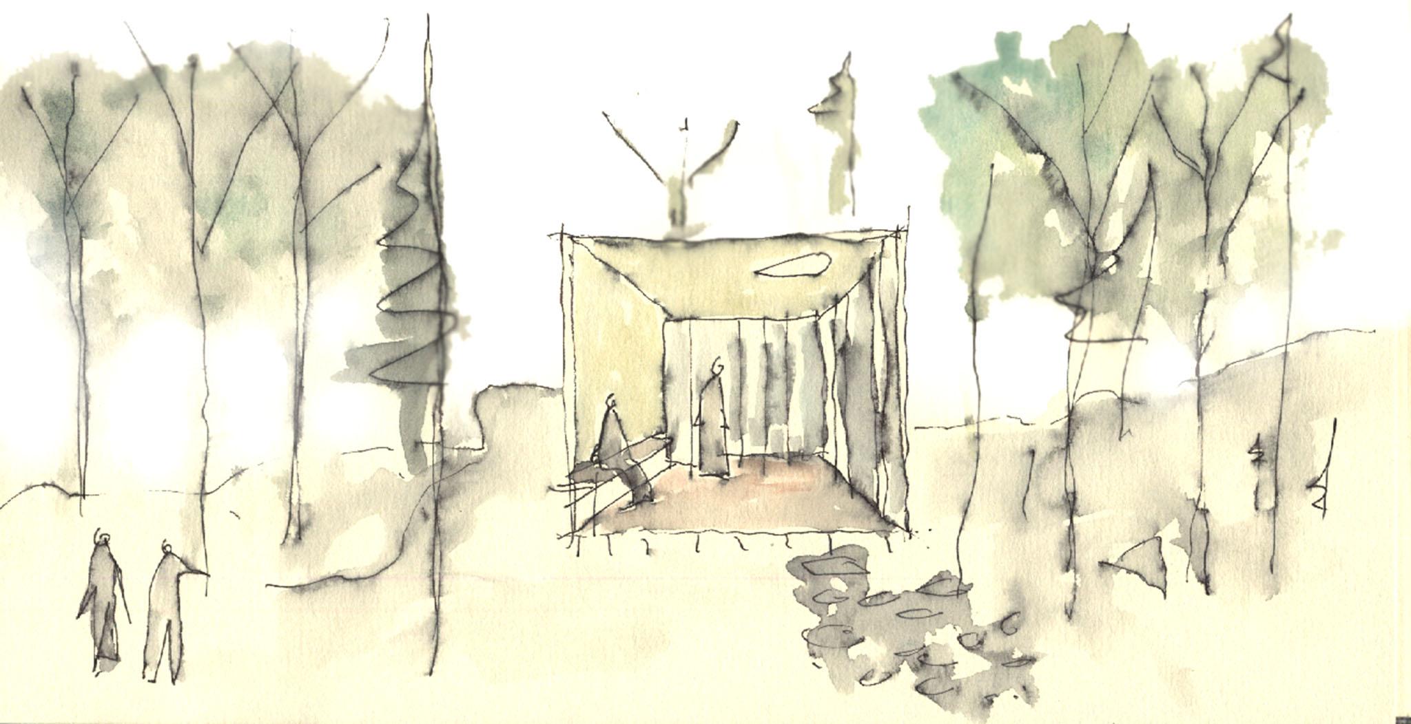 abbaye - croquis 03