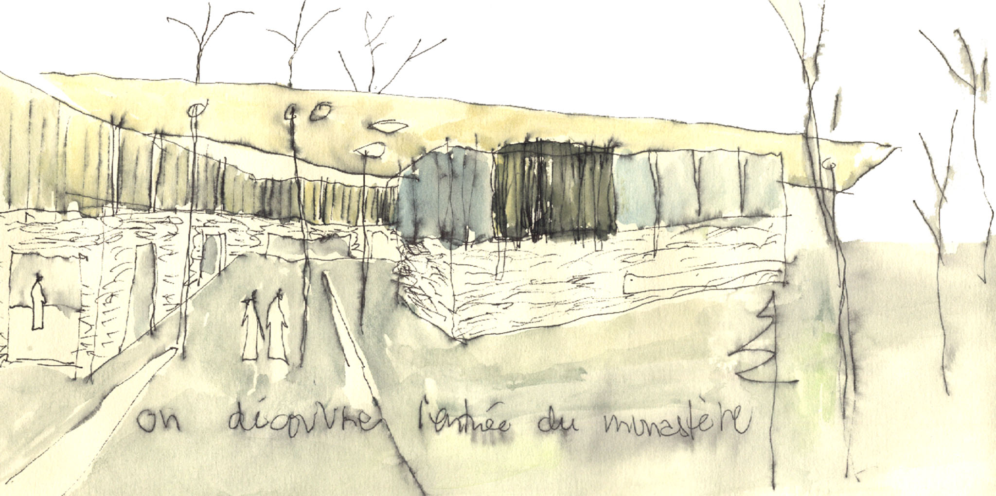 abbaye - croquis 05